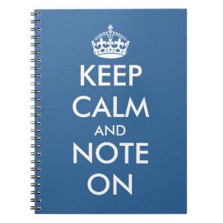 Cute office supplies | Keepcalm writing notepads Notebooks