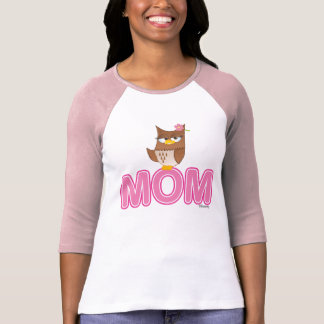 Cute Olivia VonHoot Cartoon Character for Mom - T Shirts