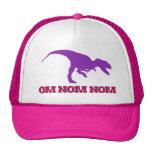 Cute Omnom Dinosaur Trucker Hat