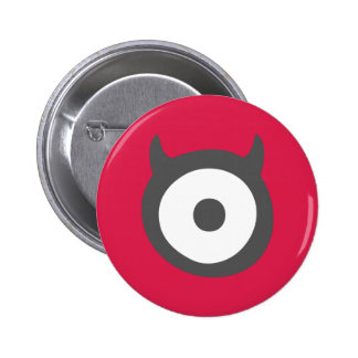 Cute One-Eyed Devil Monster Badge 2 Inch Round Button
