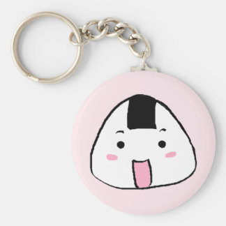 Cute Onigiri (Rice ball) Keychain