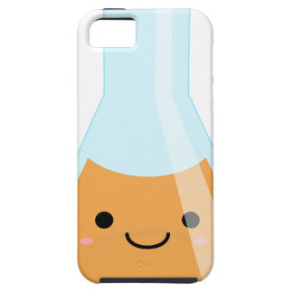 Cute orange alchemy kawaii flask case for the iPhone 5