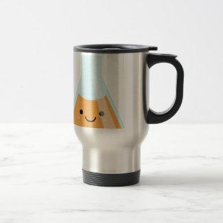 Cute orange alchemy kawaii flask travel mug