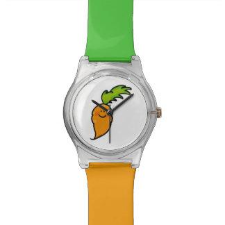cute orange carrot watch