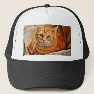 Cute Orange Cat Trucker Hat