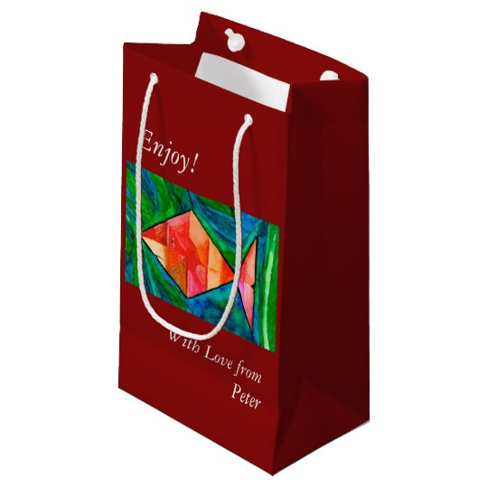 Cute Orange Fish Gift Bag