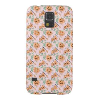 Cute Orange Halloween Pattern Galaxy S5 Case