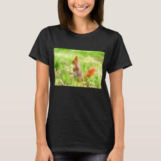 Cute Orange Squirrel Nature Wildlife T-Shirt