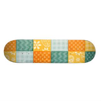 Cute Orange, Yellow, Green, & Blue Skate Board Decks