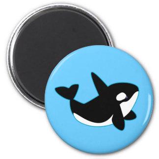 Cute Orca (Killer Whale) Magnet