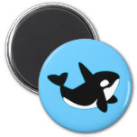 Cute Orca (Killer Whale) Refrigerator Magnets