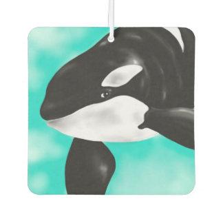 Cute Orca Whale Car Air Freshener