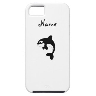 Cute orca whale iPhone 5 cover
