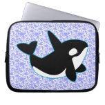 Cute Orca Whale Laptop Sleeve