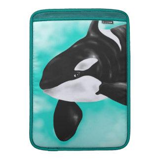Cute Orca Whale Sleeve For MacBook Air
