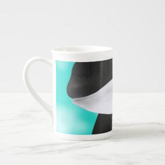 Cute Orca Whale Tea Cup