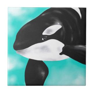 Cute Orca Whale Tile