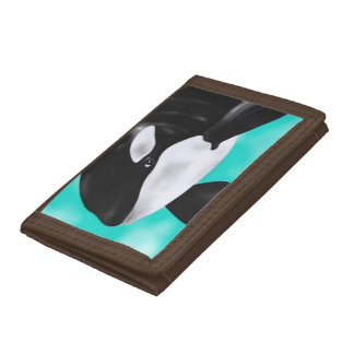 Cute Orca Whale Trifold Wallet