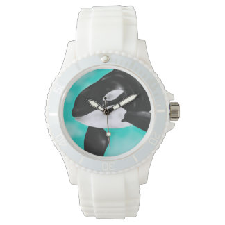 Cute Orca Whale Wrist Watch
