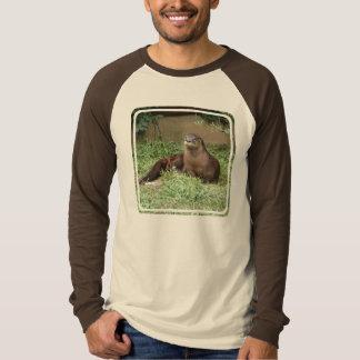 Cute Otter Men's Long Sleeve T-Shirt
