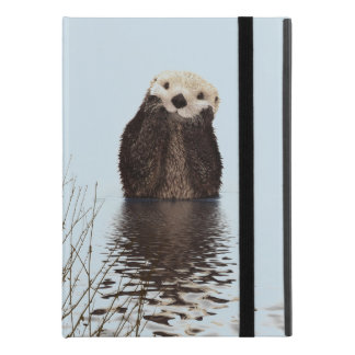 "Cute Otter Standing in a Pond Holding his Face iPad Pro 9.7"" Case"