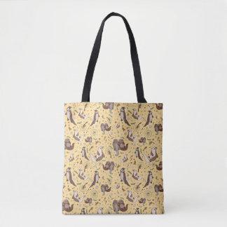Cute Otters Tote Bag