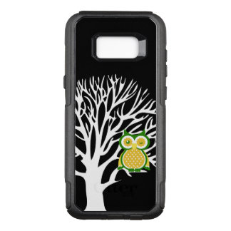Cute Owl Animal Design OtterBox Commuter Samsung Galaxy S8+ Case
