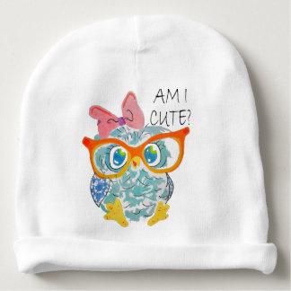 Cute Owl Baby Beanie