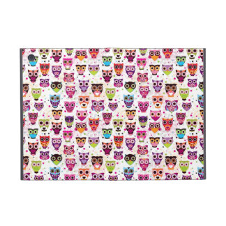 Cute owl background pattern for kids case for iPad mini