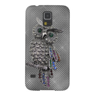 cute owl bling galaxy s5 cover