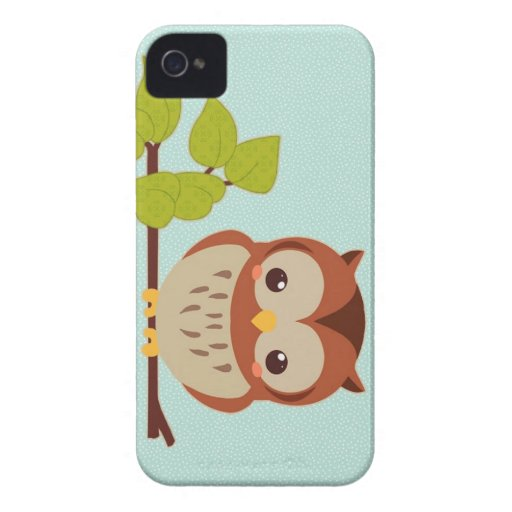 Cute Owl Blackberry Bold Covers