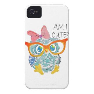 Cute Owl Case-Mate iPhone 4 Case