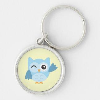 Cute Owl Character Keychain