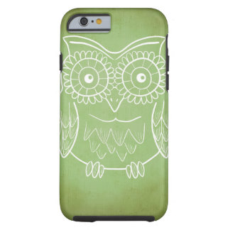 Cute Owl Drawing Tough iPhone 6 Case
