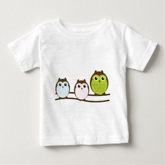 Cute Owl Family Baby T-Shirt