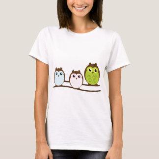 Cute Owl Family T-Shirt