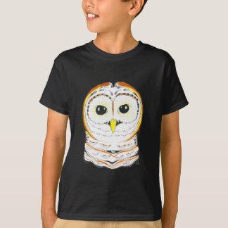 Cute Owl Ink Drawing T-Shirt