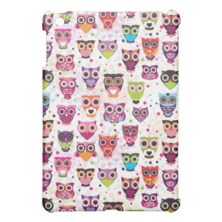 Cute owl ipad mini case