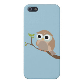 Cute owl iPhone 5/5S cover
