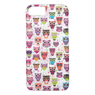 Cute owl iPhone 7 case