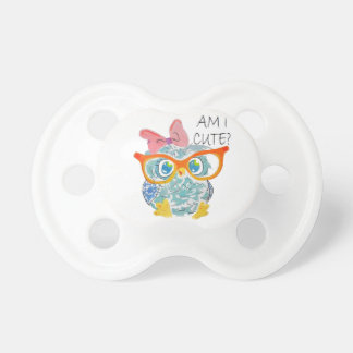 Cute Owl Pacifier