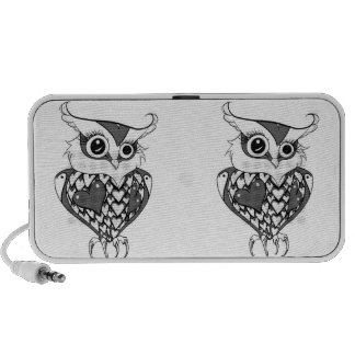 Cute Owl Notebook Speaker