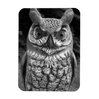 Cute Owl Statue Magnet