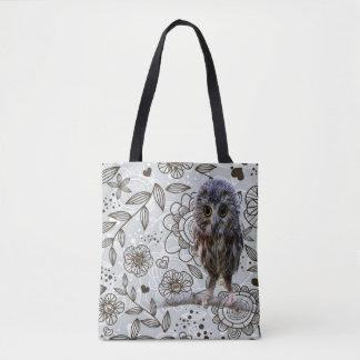 Cute Owl Tote Bag