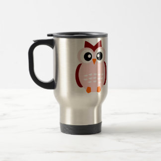 Cute Owl Travel Mug