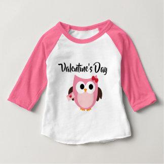 Cute Owl Valentine's Day Kids Shirt