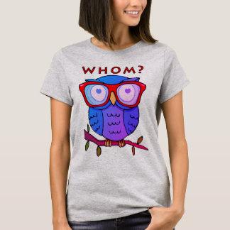 Cute Owl with Good Grammar #2 T-Shirt