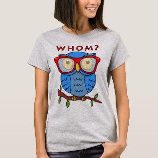 Cute Owl with Good Grammar T-Shirt