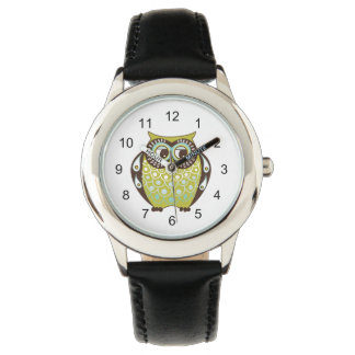 cute owl wristwatch