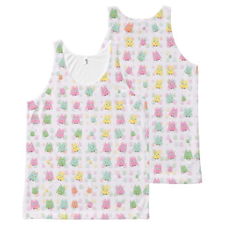 cute owls allover A All-Over-Print Tank Top